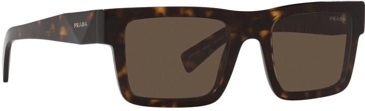 Thumbnail for your product : Prada Pr 19ws Tortoise Sunglasses