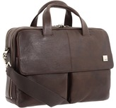 Knomo London - Warwick Double Compartment Laptop Briefcase Bags