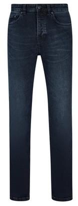 Dorothy Perkins Womens **Burton Blue Overdye Jude Bootcut Fit Jeans, Blue