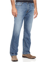 Lucky Brand Men's 181 Relaxed-Fit Straight Light Cardiff Jeans