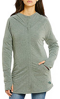 The North Face Hooded Mock Neck Wrap-Ture Full Zip Solid Jacket