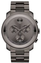 Movado 44mm Bold Chronograph Watch, Gray
