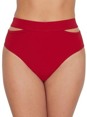 Miss Mandalay Icon Split High-Waist Bikini Bottom