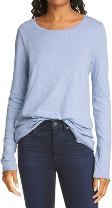 ATM Anthony Thomas Melillo Spatter Print Long Sleeve T-Shirt
