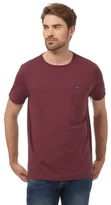 Animal Purple Chest Pocket T-shirt