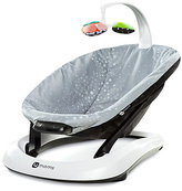 4 Moms 4Moms BounceRoo Baby Bouncer - Sliver Plush