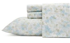Laura Ashley Rena Cotton Sateen Queen Sheet Set Bedding