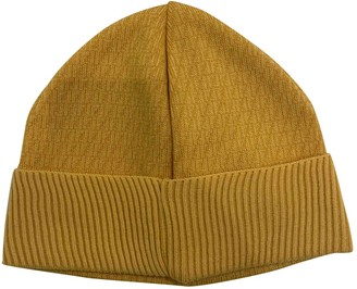 Fendi Yellow Wool Hats