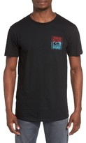 Quiksilver Men's Walled Up Graphic T-Shirt