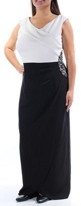 Alex Evenings Women's Colorblock Dress