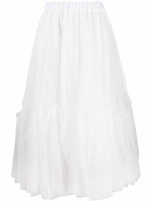 P.A.R.O.S.H. Tulle Full Skirt