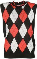 MSGM Geometric Pattern Vest