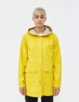 Herschel Rain Parka in Cyber Yellow