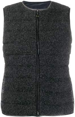 Fabiana Filippi quilted fitted gilet