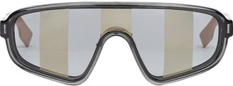 Fendi Eyewear Botanical shield sunglasses