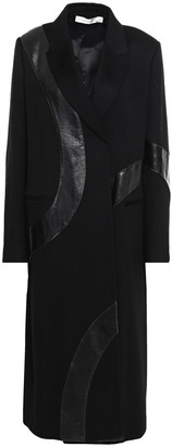 Victoria Beckham Appliqued Cashmere-felt Coat
