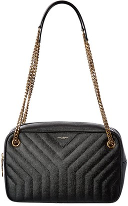 Saint Laurent Quilted Leather Camera Bag