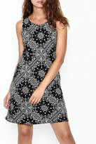Wish Black Lace Back Dress