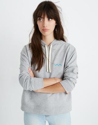 Madewell x charity: water Embroidered Hoodie Sweatshirt