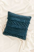 Urban Outfitters Anita Woven Shag Pillow