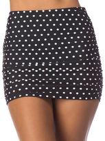 Lauren Ralph Lauren Dotted High-Waist Skirt