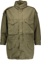 Nlst Cotton-blend hooded jacket