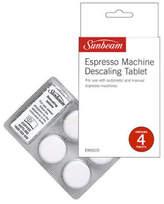Sunbeam NEW EM0010 Espresso Machine Descaling Tablets White