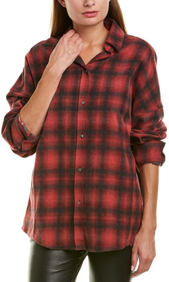 IRO Dolman Flannel Shirt
