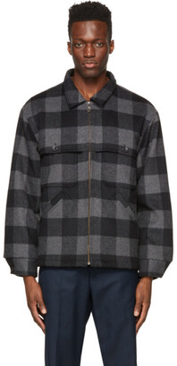 Winnie New York Black Plaid Hunting Jacket