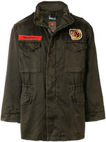 MHI appliquéd military jacket
