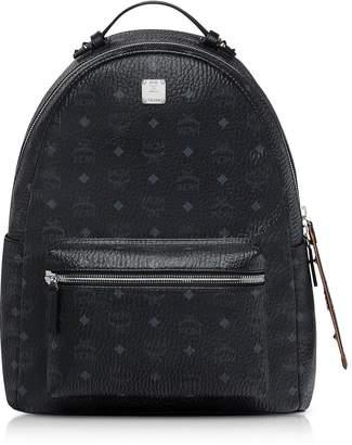 MCM Black/cognac Visetos Stark Backpack