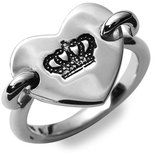 Juicy Couture Heart Tag Sterling Silver Ring