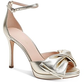 Kate Spade Women's Bridal Bow High-Heel Sandals