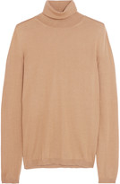 Jil Sander Cashmere and silk-blend turtleneck sweater