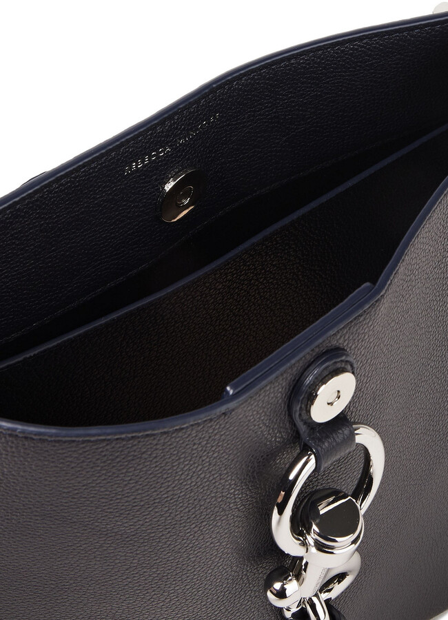 Thumbnail for your product : Rebecca Minkoff Megan Pebbled-leather Shoulder Bag