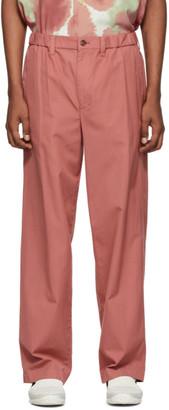 Issey Miyake Pink Gabardine Trousers