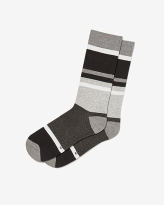 Express Striped Dress Socks