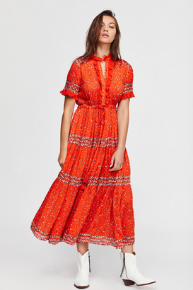 Free People Rare Feelings Midi Dress