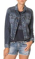 Silver Jeans Women's Long Sleeve Joga Denim Jacket