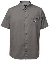 Fox Gray Brig Short-Sleeve Button-Up