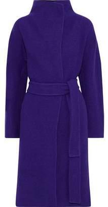 Diane von Furstenberg Jasper Belted Wool-felt Coat