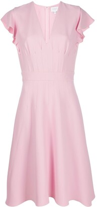 Giambattista Valli Darted Crepe Dress