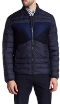 Antony Morato Quilted Contrast Panel Jacket