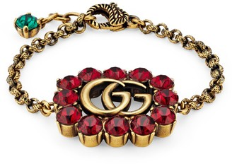 Gucci Crystal Double G bracelet