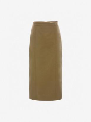 Alexander McQueen Utility Midi Skirt