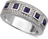 Crislu Ring, Platinum Over Sterling Silver Sapphire Cabochon Cubic Zirconia Ring (3/4 ct. t.w.)
