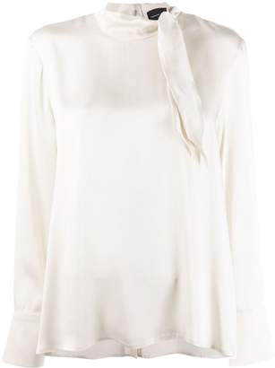 Roberto Collina neck-tied blouse