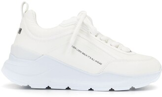 MSGM College Hiking lace-up sneakers