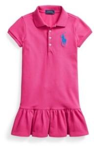 Polo Ralph Lauren Little Girls Short Sleeve Big Pony Dress