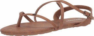 Volcom Women's Strapped in Sandals Vintage Brown 7
